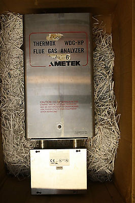Ametek Thermox WDG-HPIIC Flue Gas Analyzer