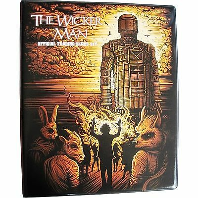 Wicker Man Collector Trading Cards with 3-Ringed Binder + 10 Pages + Promos