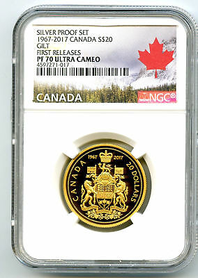 Canada Silver Dollar Coins Collection: 4x ICCS GRADED MS-65. GEM.Trends: $4600