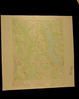Ellsworth Michigan vintage 1984 original USGS Topographical chart