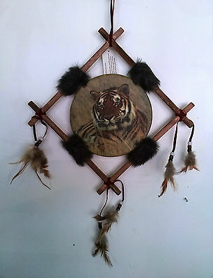 Orange Tiger Dreamcatcher