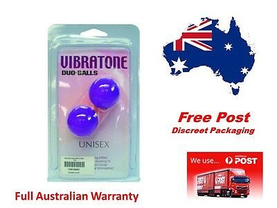 Vibratone gold Duo Balls Kegel Exercise Ben Wa ..For pelvic floor muscles