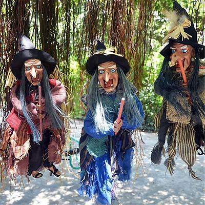 22'' Halloween Witch Party Decorations Ghost Eyes Bright & Laughing Props New