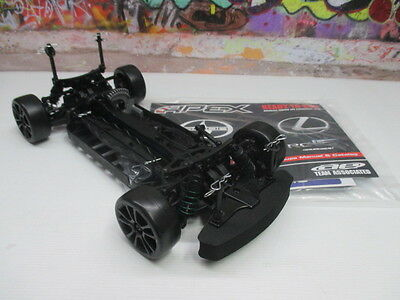 Team Associated 1/10 Apex 4WD Sparrowhawk Drifting Roller Rolling Chassis OZ RC