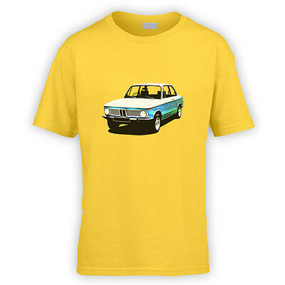 New Class Kids T-Shirt -x10 Colours- Gift German Classic Series Vintage Car