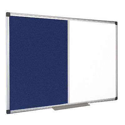 Bi-office Combination Magnetic And Felt Board 1200 X 900mm XA0522170