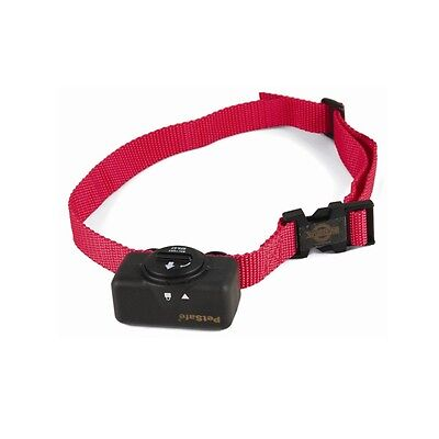 PetSafe Static Bark Noise Control Collar Red One Size Dog Puppy