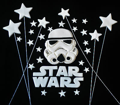 STAR WARS EDIBLE CAKE TOPPERS - CHOOSE YOUR PACK!! You Will Love these!!