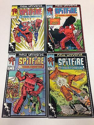 Spitfire And The Troubleshooters #1 #2 #3 #4 #5 #6 #7 #8 #9 complete set Marvel