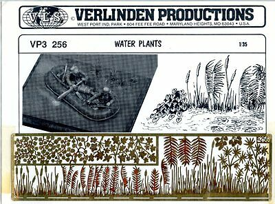 Verlinden Productions 1:35 Water Plants PE Diorama Accessory #VP3256