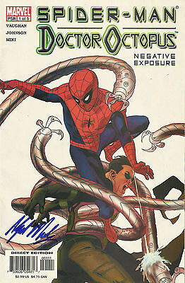 Comics Spider-Man Doctor Octopus psr 1 of 5 + autographe Alfred Molina signed