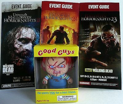 2014 Walking Dead Chucky Figure Ltd Universal Halloween Horror Night Guides12 13