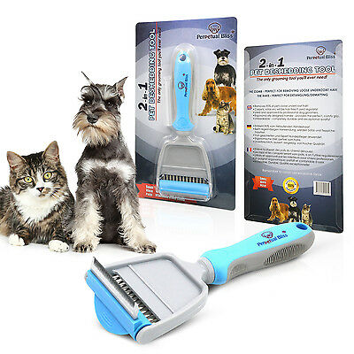 Cat Grooming Brush. Comb And Rake In 1 Tool. Also Suitable For Small Dogs.
