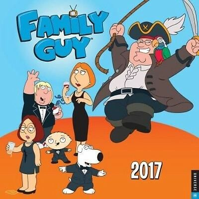 Family Guy 2017 Day-To-Day Calendar by 20th Century Fox Daily Book (English)