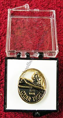 Rockwell International Collier Trophy Tie/Lapel Pin 1976 B-1 Bomber