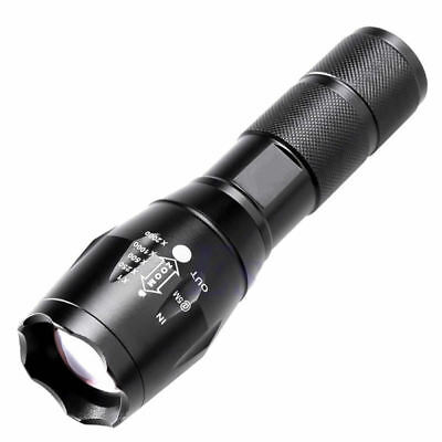 5000LM CREE XML T6 LED Zoomable Poweful Flashlight Torch Light Super Bright Lamp