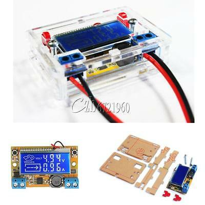 DC-DC Step Down Power Supply Adjustable Push-button Module with LCD Display New