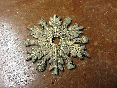 Vintage Ornate Back Plate Part Hardware