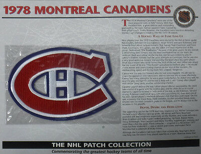 1978 Montreal Canadiens Willabee & Ward Official Nhl Hockey Patch