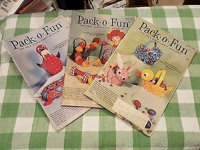 Vintage Pack O Fun Scrap Craft How To