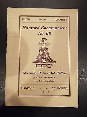 Independent Order of Odd Fellows Constitution of Subordinate Encampments 1927