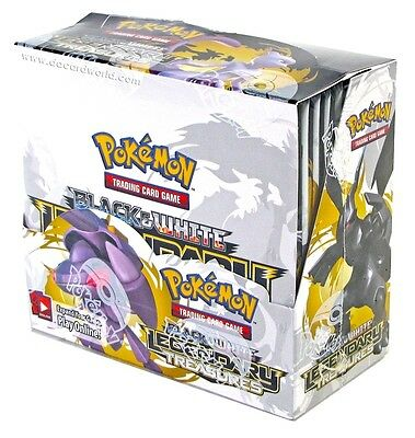 Pokemon BW Black & White Legendary Treasures Booster Box New Sealed TCG