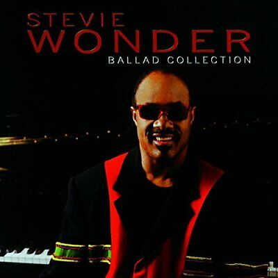 Ballad Collection - Stevie Wonder CD PQVG The Cheap Fast Free Post The Cheap