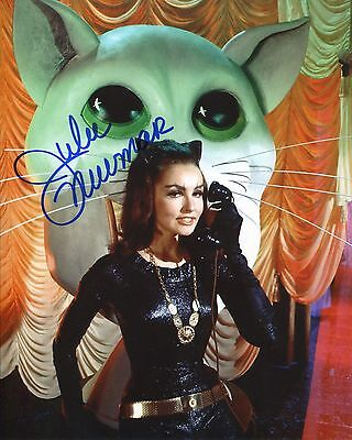 Julie Newmar Signed Batman Photo With Proof as 'Catwoman' With Fanexpo COA