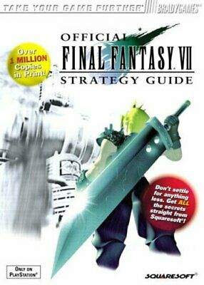 Final Fantasy VII Official Guide: v. 1 (Brady Gam... by Cassady, David Paperback