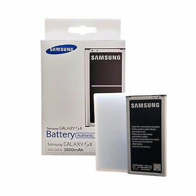 GENUINE OEM Original Samsung Galaxy S5 BG900 BBU  Battery 2800mAh