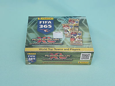 Panini Adrenalyn XL FIFA 365 2017 1 x Display / 24 Booster Trading Cards