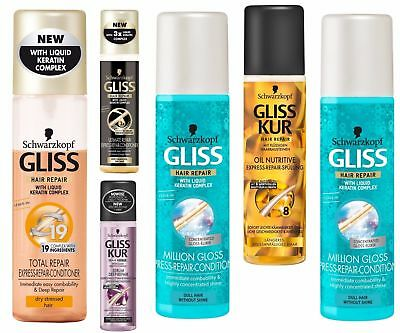 Gliss Kur Hair Express Repair Conditioner Leave-In Spray 200 ml.