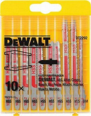 Dewalt DT2292 Jigsaw Blades 10 piece Metal Assorted DT2292