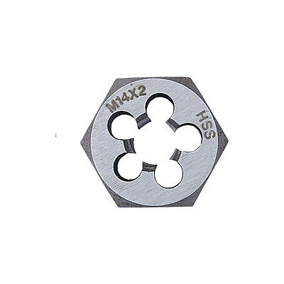 Sherwood 12X1.75Mm Hss Hexagon Die Nut