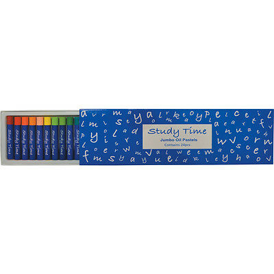 Study Time Jumbo Oil Pastels (Ass. Pack 24)
