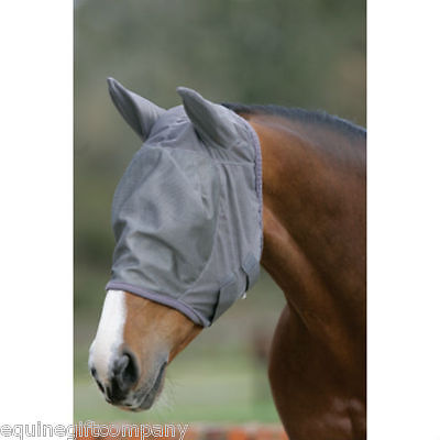 Mark Todd Fly Mask Full Face With Ear Protection Comfort Mesh Sun Protection