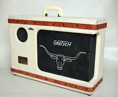1956 Gretsch 6169 Twin Electromatic Western Roundup Amplifier