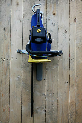Chainsaw Hedge Trimmer Rack Aluminium No Rust Storage For Vans Or Garage