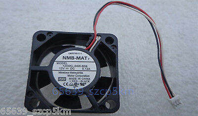 NEW NMB 1204KL-04W-B59 30 x10mm Wired Router Cooler Cooling Fan 12V 0.12A 3Pin