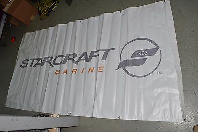 STARCRAFT  Boats Marine Decals 97x48 BANNER POSTER garage wall decal NEW LARGE!