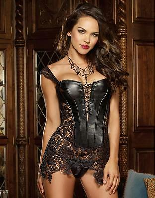 Babydoll sexy donna intrimo notte sexy lingerie sexy chemise + perizoma