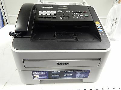 Brother FAX-2840 Intellifax High Speed Laser Fax Machine Printer Copier
