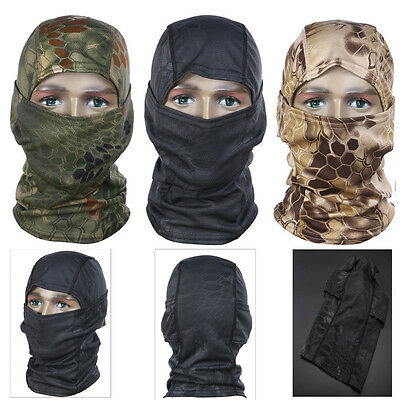 Motorcycle Neck Head Cover Winter Ski Bike Cycling Face Mask Cap Tactical Scarf