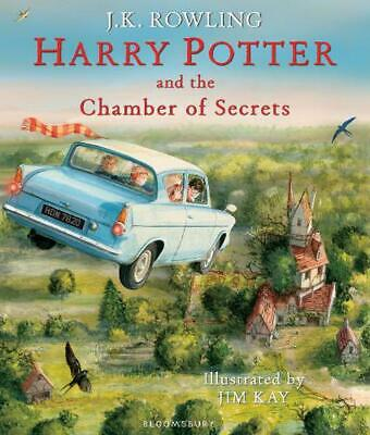 Harry Potter and the Chamber of Secrets (Illustrated Edition) by J.K. Rowling Ha