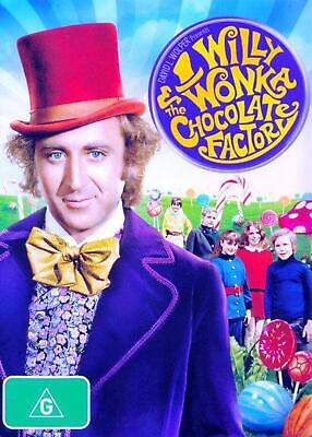 Willy Wonka and the Chocolate Factory (1971) - DVD Region 4 Free Shipping!