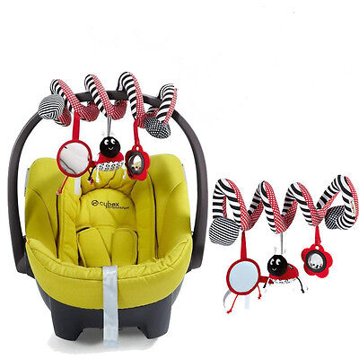Baby Cot Spiral Activity Hanging Decoration Toys for Cot/Car Seat/Pram Gifts