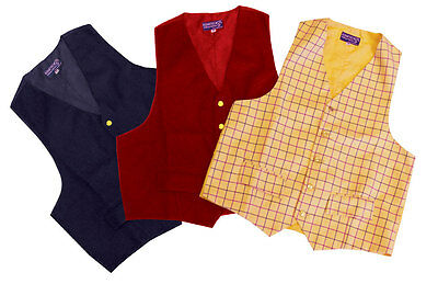 Equetech Mens Classic Waistcoats MCW choice of 3 colours **SALE WERE £39.95**