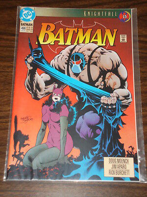 Batman #498 Dc Comics Dark Knight Nm Condition Catwoman Bane August 1993