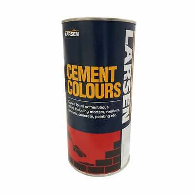 Cement Colours - Use in Mortars, Renders, Concrete Mixes, Grouts & Pointing 1kg