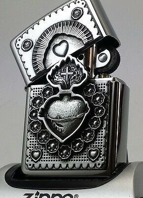 MEXICAN HEART High Polished TRICK-ZIPPO neu+ovp Collection 2017